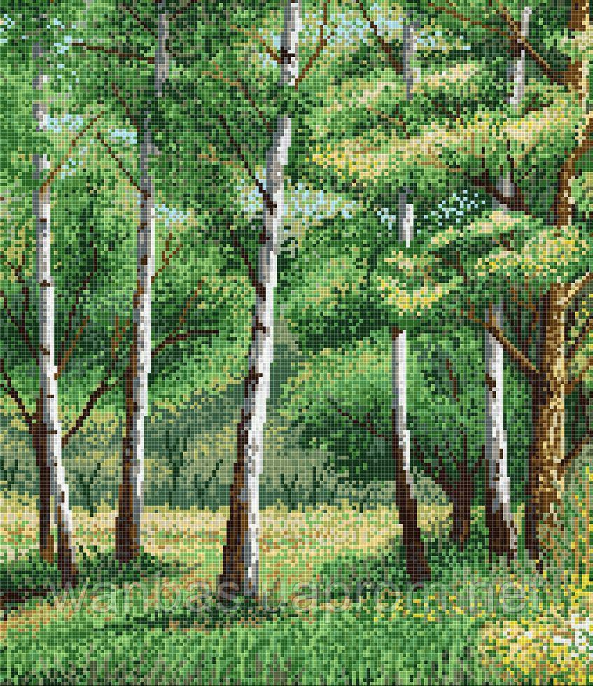 Мозаичное панно D-CORE 1800*2100 мм. pb21.