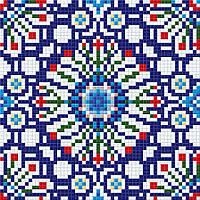 Мозаичный патерн D-CORE 610*610 мм. dec05.