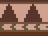 Мозаичный фриз D-CORE 262*196 мм. fr05