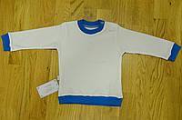 Дитяча  трикотажна біла кофточка  D&C розмір 62\68\74\80\86\92\104