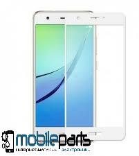 Защитное стекло для Huawei Nova 2s (0,25 мм, 3D)(Белое)(Тех.упаковка, без салфеток)