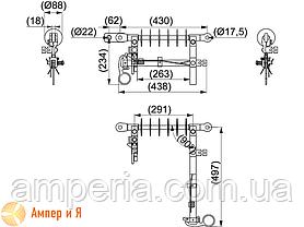 Разъединитель линейный SZ24 6-20 кВ ENSTO, фото 2