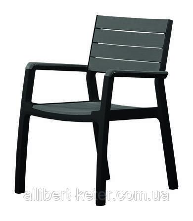 Стілець - крісло HARMONY CHAIR графіт (Keter)