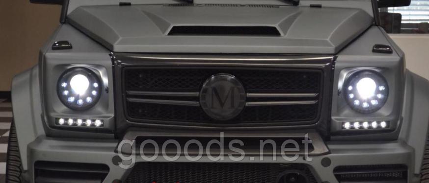 Карбонова сітка в стилі MansorY на Mercedes G Class W463