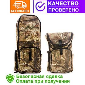 Рюкзак для металлоискатель (металоискателя, металошукача) и лопаты (2018-forest)