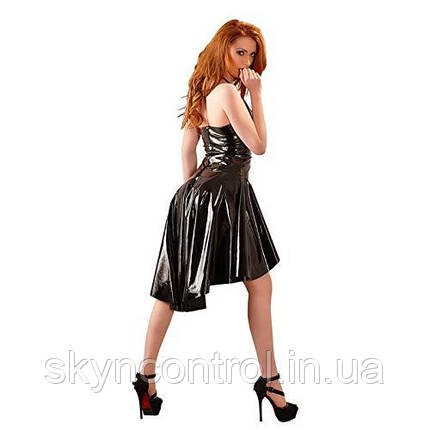 Сукня латексне чорне Black Level Vinyl Dress, фото 2