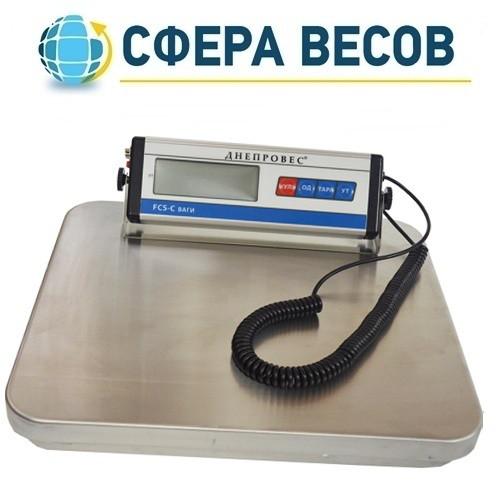 Весы товарные электронные Днепровес FCS-C (150 кг)
