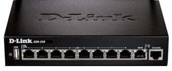 Мультисервисный шлюз D-Link DSR-250