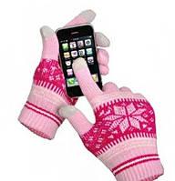 Женские зимние перчатки Touch Sceen Doloni для работы с сенсорными устройствами не снимая перчаток на холоде