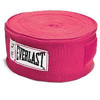 Бинты боксерские (2шт) Эластан ELAST BO-3729-4 (l-4м, красный, синий, черный) Синий