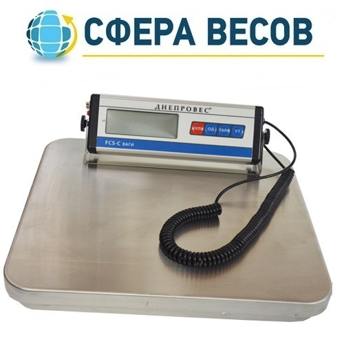 Весы товарные электронные Днепровес FCS-C (300 кг)