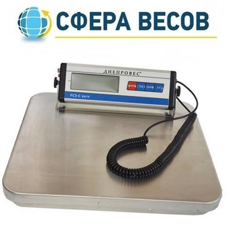Весы товарные электронные Днепровес FCS-C (300 кг), фото 2