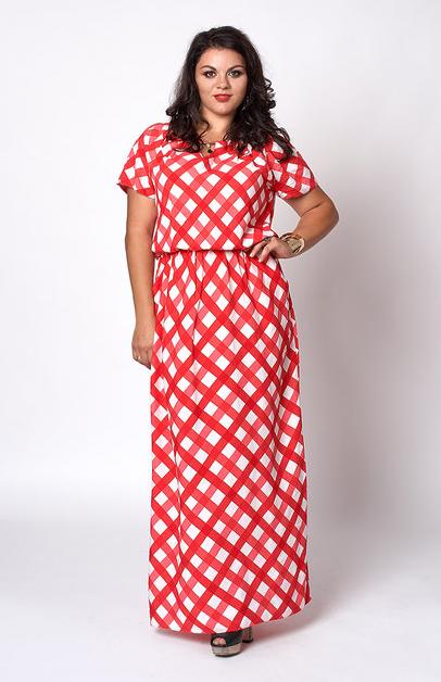 Платье из штапеля большой 52-58 размер