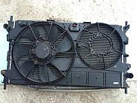Диффузор вентилятора радиатора 1.8TDCI 2секц FORD CONNECT 02-09 (ФОРД КОННЕКТ)