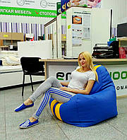 "Кресло-мешок ""Ferrari Sport"" (материал эко-кожа Зевс), размер XL"