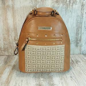 Кожаный женский рюкзак Tommy Hilfiger Claudia II Dome Backpack Оригинал.