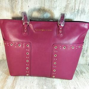 Кожаная женская сумка Tommy Hilfiger Aileen Tote Оригинал, большая абсолютно новая.