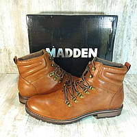 Ботинки мужские Steve Madden Mens Simpl Cognac Оригинал. Натуральная кожа. Размер 44