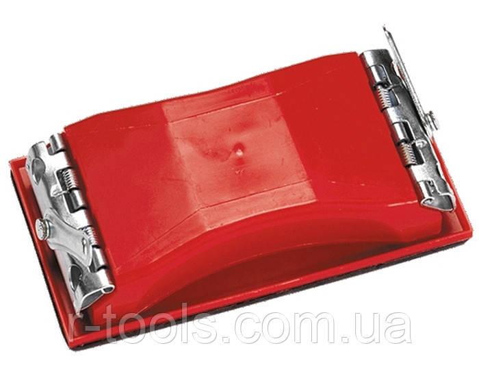 Брусок для шлифования 160 х 85 мм пластиковый с зажимами MTX 758209