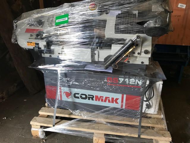 Ленточнопильные станки по металлу CORMAK BS 712 N