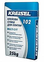 Клеевая смесь для плитки MULTI 102 KREISEL 25кг