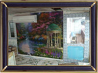 Фреска декоративная-печать и нанесение фресок любого размера