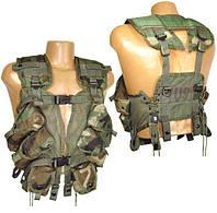 США оригинал Жилет разгрузочный TLBV с2 б/у. Gen II Tactical Load Bearing (LBV/LBE) Vests, Woodland Camo, USGI