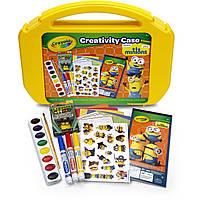 Набор Арт кейс Crayola Миньоны  для творчества в чемодане, MINIONS, фото 1