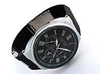 Стальные часы - Ulysse Nardin - Le Locle, цвет корпуса серебро, черный циферблат