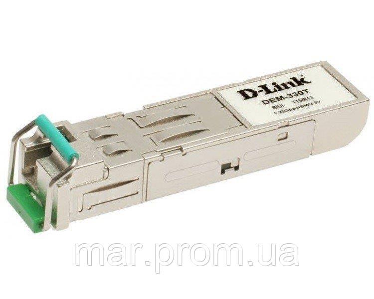 SFP-Трансивер D-Link DEM-331R/20KM/DD 1x1000BaseBX-U, SM WDM, LC, DDM-мониторинг