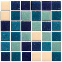 R-MOS B113132333537 мікс блакитний-6 на сітці