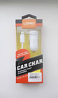 Автомобильные зарядные устройства LDnio С-12 Iphone 5G 1USB/2.1А