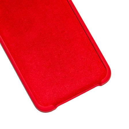 Силиконовый чехол на Xiaomi Redmi Note 5 / Note 5 Pro Soft-touch Красный , фото 2