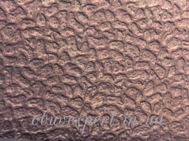Резина микропора для обуви РПШ 6,5 мм 590*820  корич Вулкан, фото 2