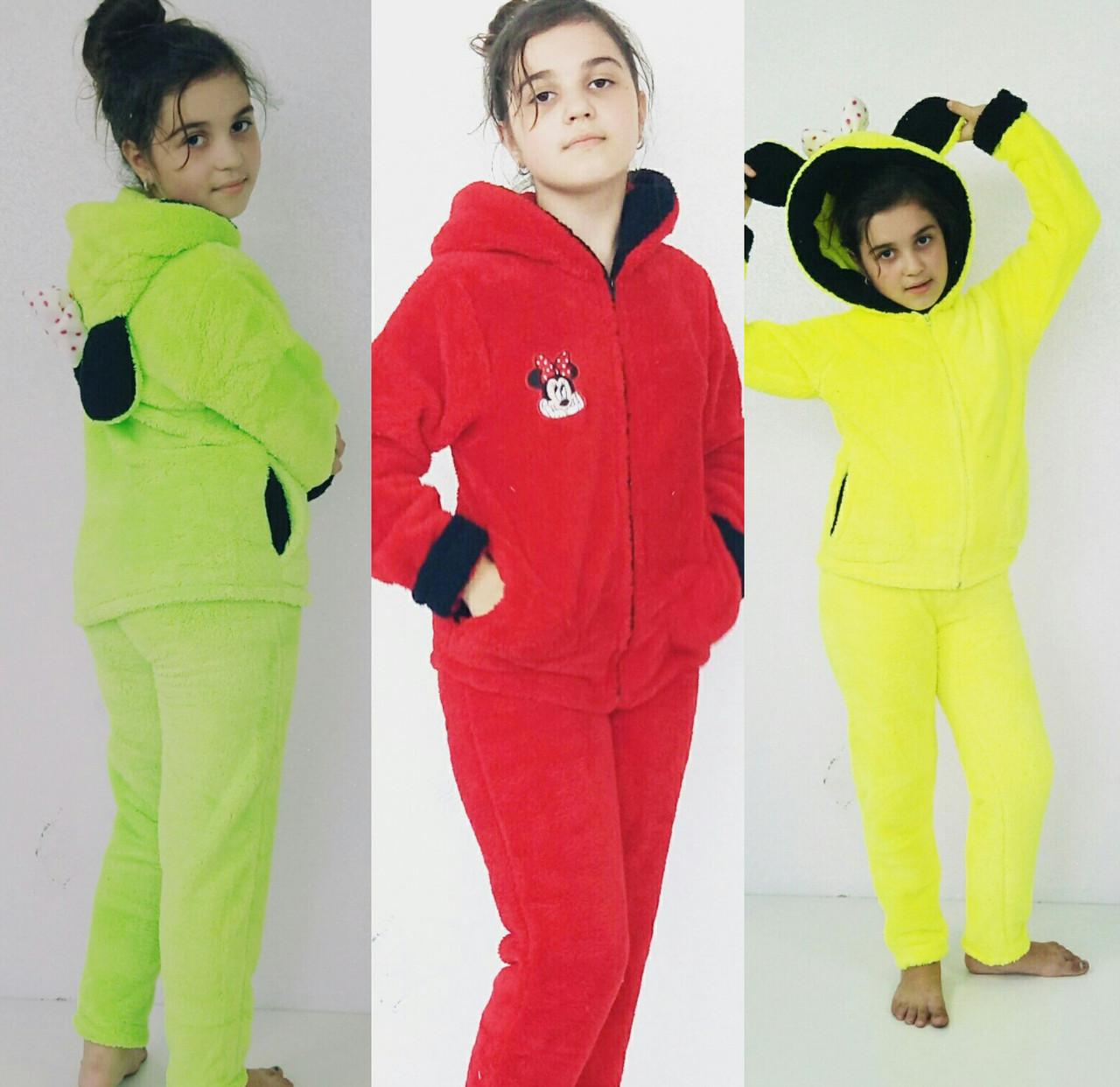 b8bac8c323c7 Детский махровый костюм-пижама с ушками Микки лимонный, 14, цена 682 грн.,  купить в Одессе — Prom.ua (ID#759813829)