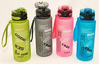 Бутылка спортивная для воды, 1000мл, 4 расцветки