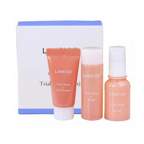 Laneige Набір мініатюр для молодої шкіри Fresh Calming Trial Kit