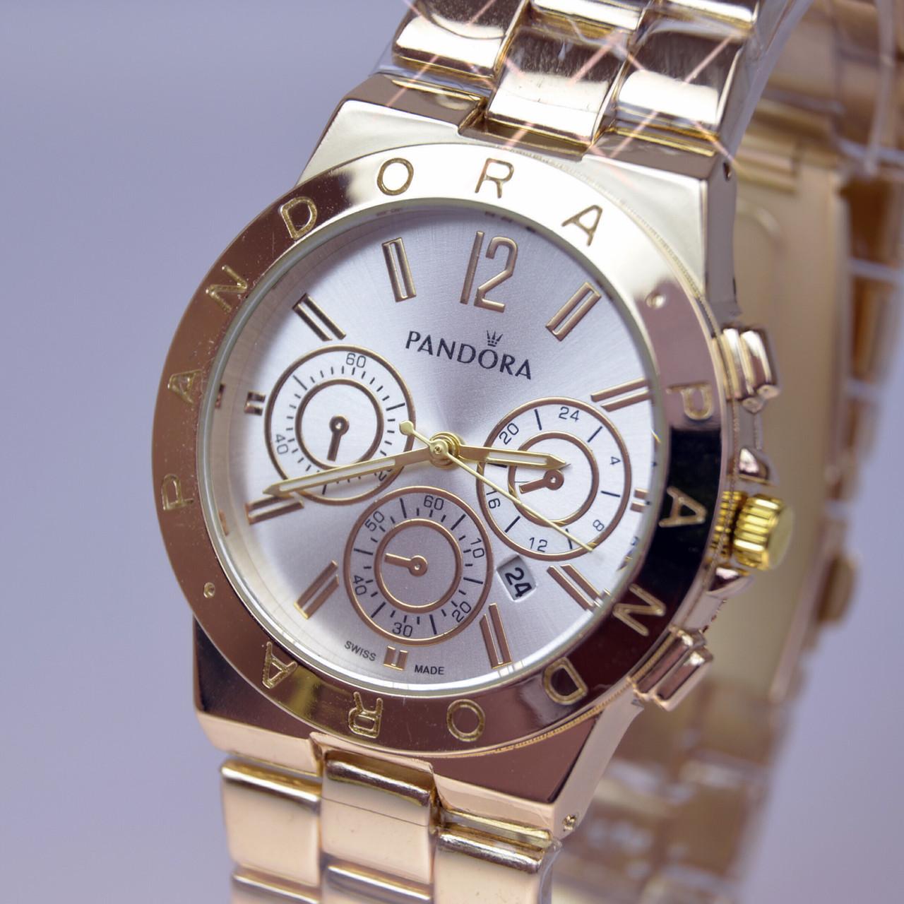 407cf48782ff Женские Наручные Часы PANDORA (Пандора) А84 Gold — в Категории