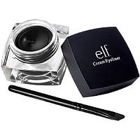Подводка для глаз водостойкая с кистью e.l.f. Studio Cream Eyeliner