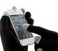 Перчатки зимние тачскрин для сенсорных мобильных телефонов и прочих устройств
