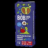 Конфеты BOB SNAIL Яблоко-Черника 30гр (1уп/24шт)