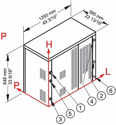 Льдогенератор Brema C300A, фото 2