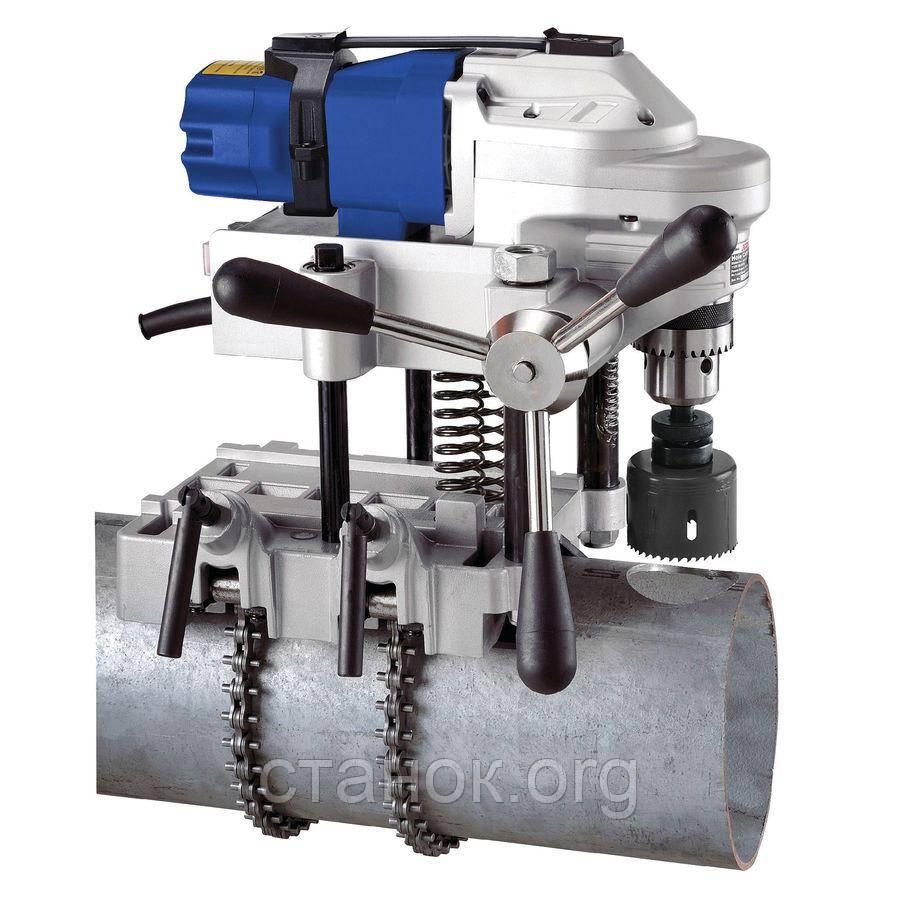 Metallkraft RB 127 M16 сверлильный станок на магнитном основании по металлу для труб