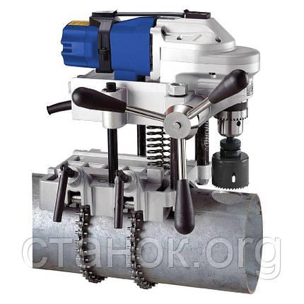 Metallkraft RB 127 M16 сверлильный станок на магнитном основании по металлу для труб, фото 2