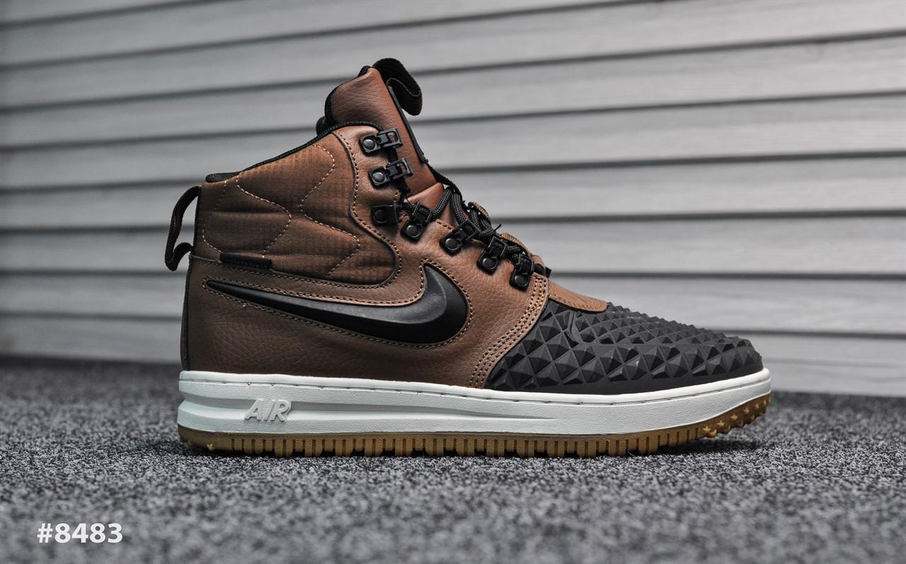 Мужские кроссовки Nike Lunar Force Brown, Реплика ААА