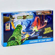 Автотрек детский S8848 «Крокодил против гигантской змеи»