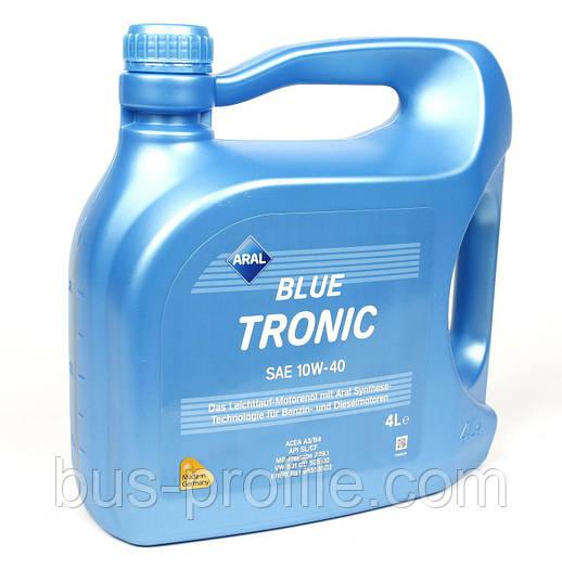 Масло 10W40 Blue Tronic (4L) (VW501 00/505 00/MB 229.1) — Aral Blue Tronic — 20484