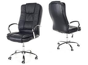 Офисное кресло Calviano MAX черное, фото 2