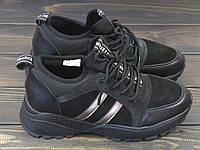 Черные кроссовки чехлы женские, фото 1