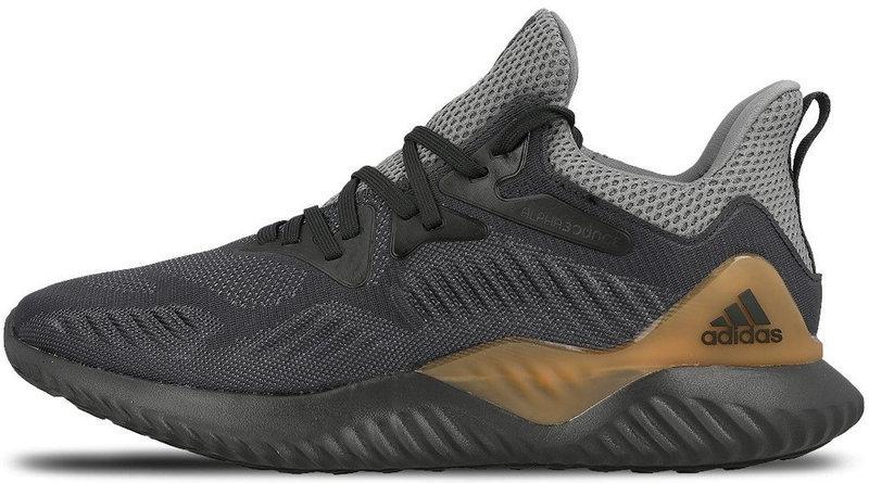 """Мужскиекроссовки adidas Alphabounce """"Black"""" (Адидас Альфабоунс) черные"""